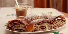 Kynutý pudinkový koláč | NejRecept.cz Home Baking, 20 Min, Apple Pie, Pancakes, Bread, Breakfast, Ethnic Recipes, Sweet, Desserts