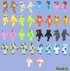 Pokemon Minecraft skins