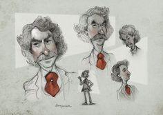 Mark Twain, Sketch ideas