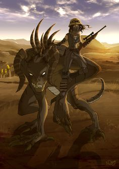 I want a freaking Deathclaw by TetheredComic on DeviantArt