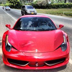 Ferrari 458  Llano grande
