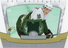 2006-07 Fleer Hot Prospects Loui Eriksson Jersey Card Dallas Stars #DallasStars