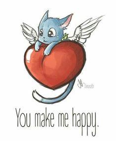Happyyyyy from fairy tail❤