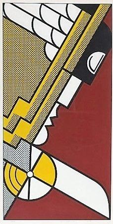 Roy Lichtenstein, salute to aviation -1968 on ArtStack #roy-lichtenstein #art