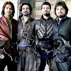 The Musketeers, kicking butt and taking names.