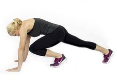 18 Heart-Pumping Bodyweight Exercises - at work workout - Skinny Mom Fitness Tips, Fitness Motivation, Health Fitness, Fitness Challenges, Fitness Plan, Body Fitness, Skinny Mom, Plyometrics, Muffin Top