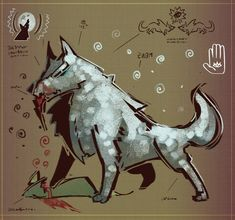 Lone Wolf by MisterFeelgood on DeviantArt Final Fantasy X, Lone Wolf, Artist Art, Easy Drawings, Lonely, Real Life, Concept Art, Creatures, Deviantart