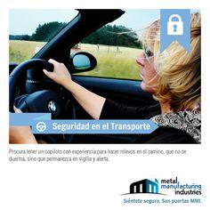 ¡Excelente jueves! ¿Cuántos accidentes se hubieran podido evitar en las carreteras de haber sabido este tip de #Seguridad en el Transporte?