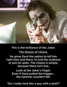 This is why the joker is my favorite