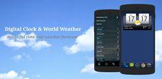 Digital clock & world weather v1.05.52 (Mod Ad Free)  Jueves 7 de Enero 2016.Por: Yomar Gonzalez | AndroidfastApk  Digital clock & world weather v1.05.52 (Mod Ad Free) Requisitos: 2.3  Descripción: Reloj Digital y el clima mundial es una aplicación de tiempo con todas las funciones y widgets. La aplicación y el widget de disponen lo siguiente: - 10 pieles de widgets para elegir (más pieles que vienen en el futuro) - Apoyo (externos) paquetes de temas adicionales - Icon 4 Tiempo de pieles…