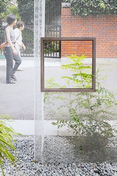 UCA firstyear: Ghost Like Architecture : Shingo Masuda+Katsuhisa Otsubo: Industrial Architecture, Facade Architecture, Landscape Architecture, Urban Landscape, Landscape Design, Love Garden, Exterior, Brick And Stone, Facade Design