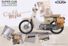 Honda Super Cub | Takeyoshi images... could this be any more perfect!  LOVE and its a 110.. sweet!