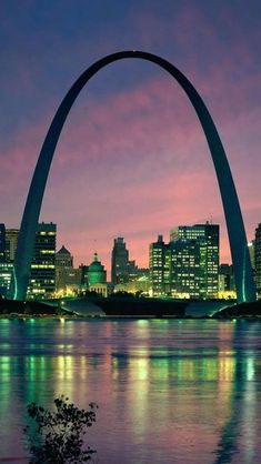 Gateway to the West - Saint Louis, Missouri. It's even cooler when you're at the tippy top!