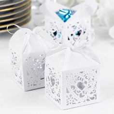 Filigree Favor Box -