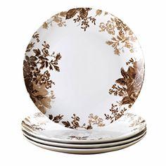 Paula Deen Signature Dinnerware Tatnall Street 4-Piece Dinner Plate Set Coffee Bean  sc 1 st  Pinterest & Fun Wares Fun Wares Me Time - Fire Engine 2015 Amazon Top Rated ...