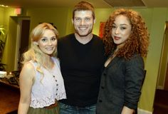 Clare Bowen, Chris Carmack, and Chaley Rose