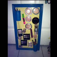 My own personal magnet make up board! More college stuff!