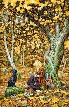 «10 Fantásticas pinturas retratando a vida de leitores»
