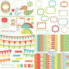 Beach #Party #Scrapbooking #Kit by @prettdesigns | Download here http://www.luvly.co/users/PrettifulDesigns