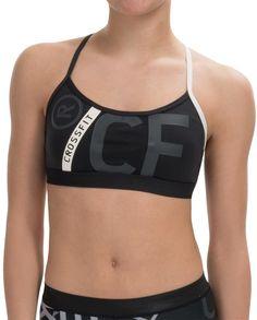 Reebok CrossFit® Front Rack Sports Bra - Medium Impact (For Women)