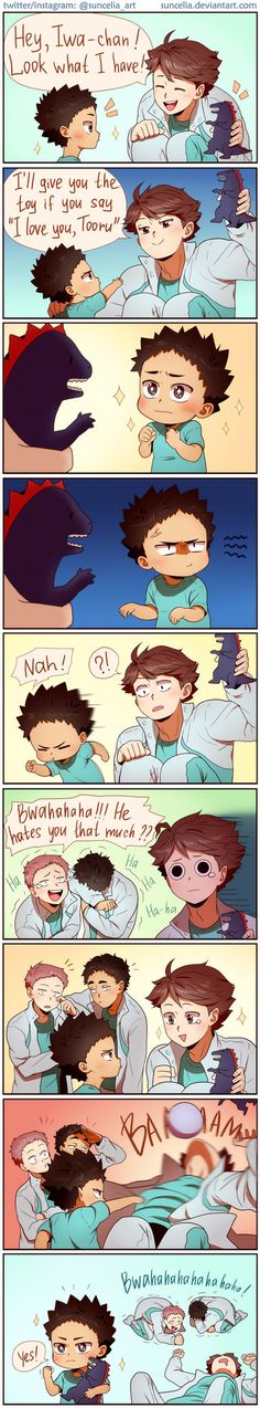 first he runs off and then he bashes Toorus head with a ball, im fucking crying here, Iwa is a genius