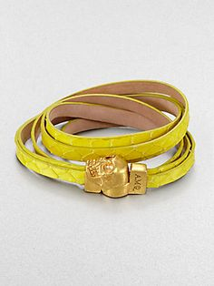 Alexander McQueen Multi-Wrap Snake Bracelet