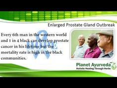 Herbal treatment for prostate enlargement focuses on reducing your symptoms, prostate cancer is more common disease in black men of America and Africa. Modern ways of prostate enlargement are identified and Ayurvedic medicines are the best way to cure prostate enlargement gland