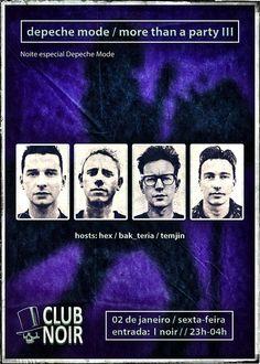 More Than a Party - Tributo a DEPECHE MODE Sexta 2 de Janeiro  Post-Punk ✹ New Wave ✹ Alternative ✹ 80's ✹ Synthpop Hosts: Hex + Bak Teria + Temjin Evento: https://www.facebook.com/events/587219821422112/ Entrada 1 Euro Aberto das 23 às 4