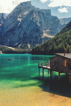 Nature, Places and the Universe — Lake Braies, Italy
