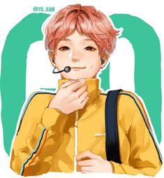 Bts go go Rap Monster Namjoon, Hoseok, Rapmon, Jimin, Yoonmin, Leprechaun, Bts Anime, Cartoon Photo, Kpop Drawings
