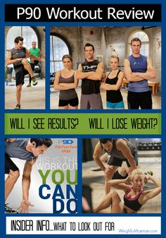 P90 Review: Tony Horton's new Beachbody workout program. P90 is a simple DVD plan to help you lose weight and get results in as little as 25 minutes a day.