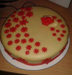 tort cu martipan :D Cake, Desserts, Food, Pie Cake, Tailgate Desserts, Pastel, Meal, Dessert, Eten