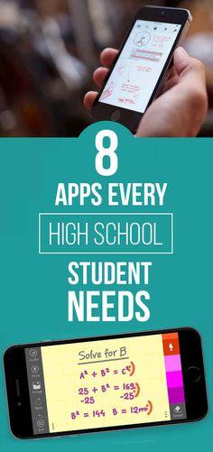8 Apps That'll Make High School A Little Easier