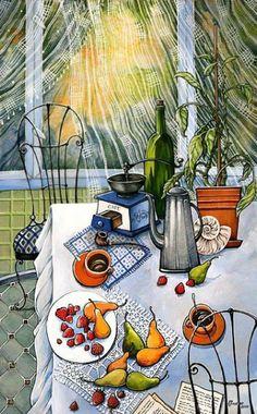 Батик. Автор Мария Каминская