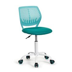 GreenForest Office Task Desk Chair Adjustable Mid Back Home Children Study Chair, Turquoise -  http://www.wahmmo.com/greenforest-office-task-desk-chair-adjustable-mid-back-home-children-study-chair-turquoise/ -  - WAHMMO