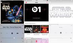 """Apple Music da la bienvenida a """"Star Wars: El despertar de la fuerza"""" desde una emisora temática - http://www.actualidadiphone.com/apple-music-promociona-star-wars-el-despertar-de-la-fuerza-en-una-emisora-tematica/"""