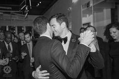 Can you feel the love? LOVED working with this amazing couple, Ricky & Seth! #RobertRestaurant #NYCWedding #ColumbusCircleWedding #Love #LoveIsLove