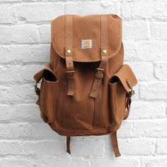 Carhartt Tramp Backpack- can't you see me with this on my little vespa