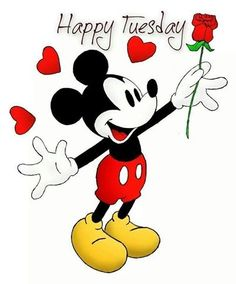 Happy Tuesday quotes quote disney mickey mouse days of the week tuesday tuesday quotes