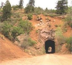 Haunted Gold Camp Road Tunnels Colorado Springs, CO