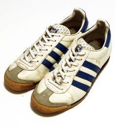 70's Adidas sneaker ROM made in west germany by SHOPakifuu Running Sneakers, Adidas Sneakers, Shoes Sneakers