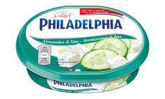 Philadelphia smeerkaas komkommer & feta Light, 10% vet