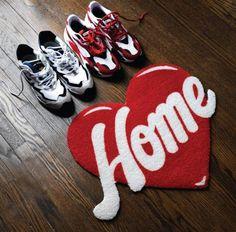 Funky Rugs, Rug Inspiration, Barbie Dream House, Hand Tufted Rugs, Love Home, Custom Rugs, Home Rugs, Home Decor Furniture, Rug Hooking