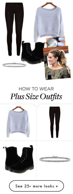"""someone has a crush on me!!"" by vireheart on Polyvore featuring BERRICLE and Dr. Martens"