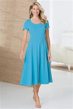 Amazing Outfit Ideas for Ladies Jersey Knit Dress - fashionist now Women's Fashion Dresses, Sexy Dresses, Dress Outfits, Cool Outfits, Dress Up, Concert Dresses, Choir Dresses, Little Girl Dresses, Girls Dresses