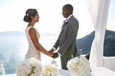 Wedding moments- Santorini wedding
