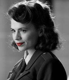 Hayley Atwell as Peggy Carter, in Marvel's Agent Carter Captain America Peggy Carter, Captain America Movie, Hayley Atwell, Marvel Women, Marvel Dc, Marvel Girls, Marvel Heroes, Steve Rogers, Agent Carter Tv Series