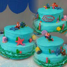 Nemo/Dory Birthday Cake