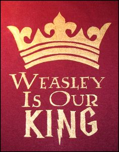 He never lets the quaffle in!That's the reason why we sing Weasley is our King!