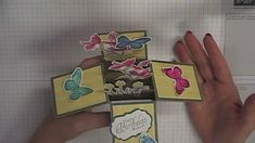 Stamping T! - Card in a Box An A2 card size.